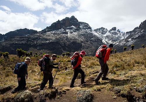 Mount Kenya Climbing Safari
