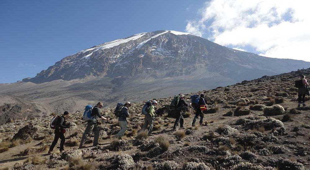 6 DAYS MOUNT KILIMANJARO TREKKING: MACHAME ROUTE