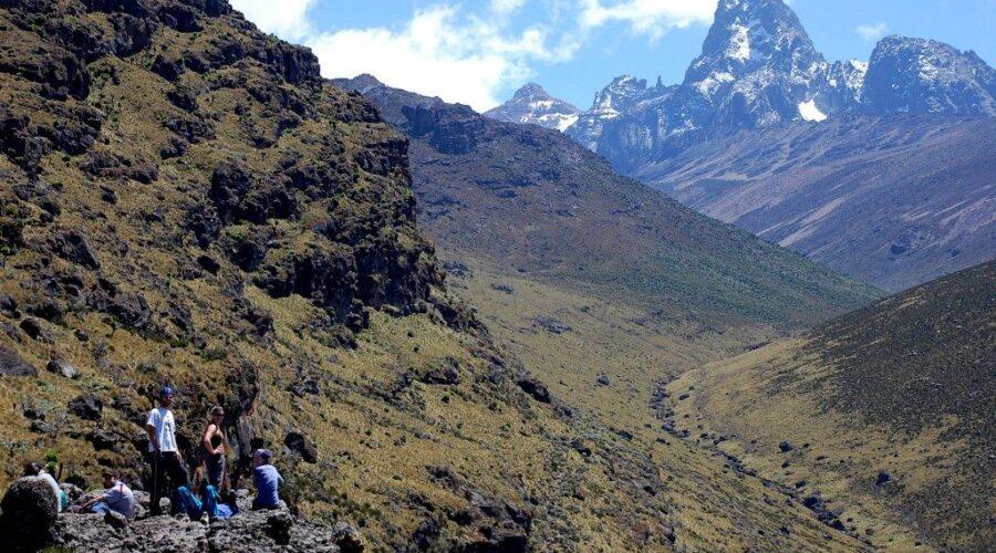 5 days Mount Kenya climbing Naromoru Route